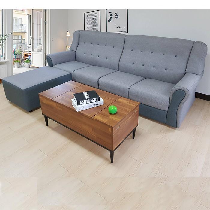 L型沙發│巴比諾 貓抓皮雙色2+2+腳椅 雙人沙發 四人沙發 KIKY-KIKY睡眠概念館