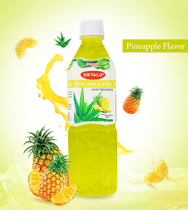pineapple aloe drink