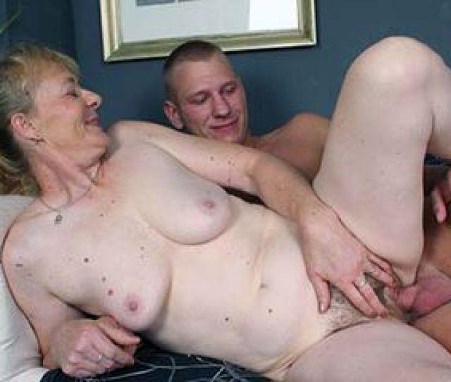 Granny Maria Riding A