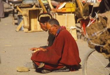 pelerins devant Jokhang