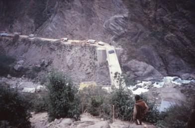 Friendship Bridge, entre la Chine et le Népal