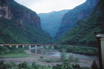 Vue du train Chihuahua al Pacifico