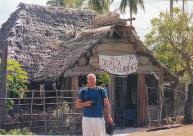 Restaurant au bord de la plage