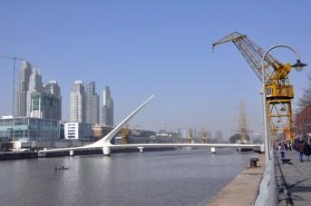 Le quartier des docks, rehabilité (puerto madero)