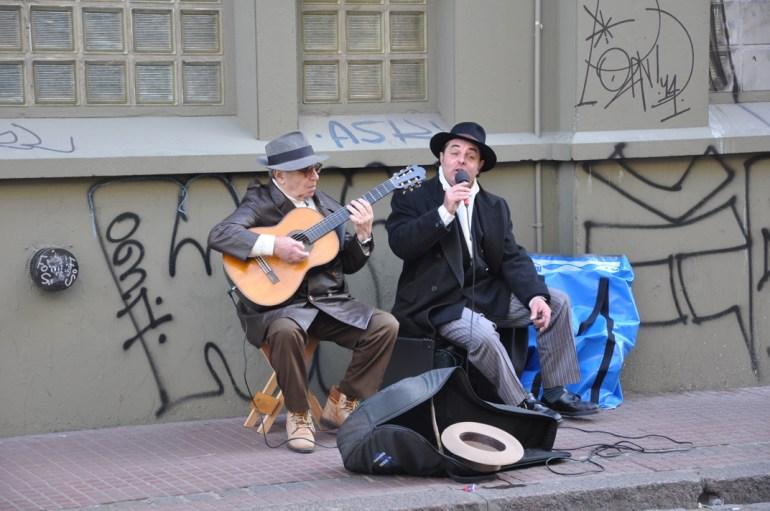 Chanteur de Tango, San Telmo