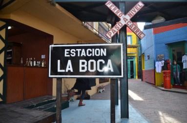 """Le quartier touristique de """"La Boca"""""""