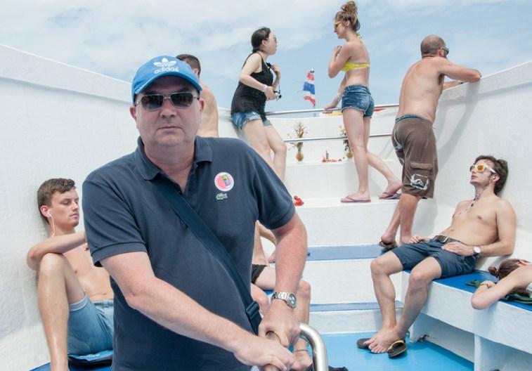 En bateau vers Ko Phi Phi
