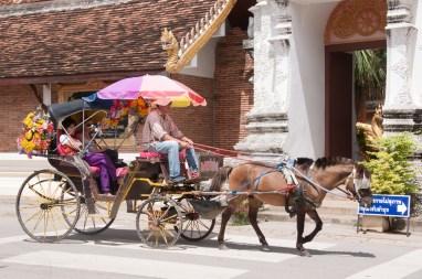 Romantique calèche, Lampang