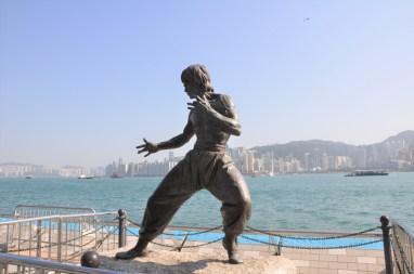 Bruce Lee sur star avenue