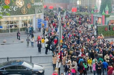 Nanjing Rd : ce soir, c'est le 31 décembre