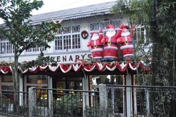 "Glenary's restaurant (très ""british"""""