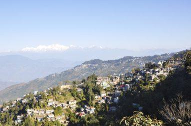 vue de Darjeeling