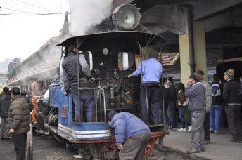 Préparation du train