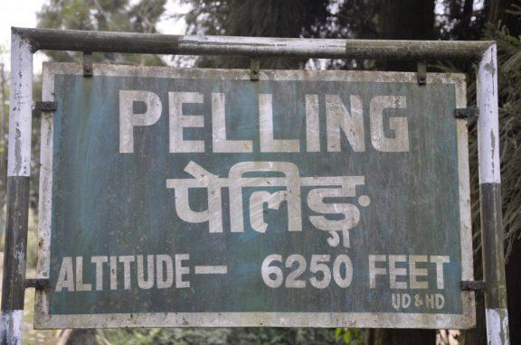 1ère étape Pelling (2000m)