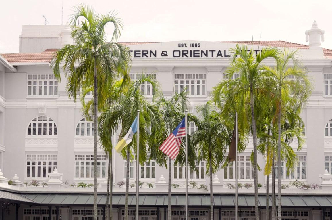 Le fameux eastern & Oriental hotel