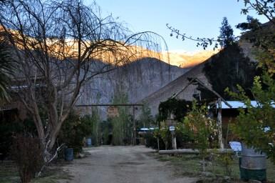 L'unique camp de maisonettes ouvert en hiver