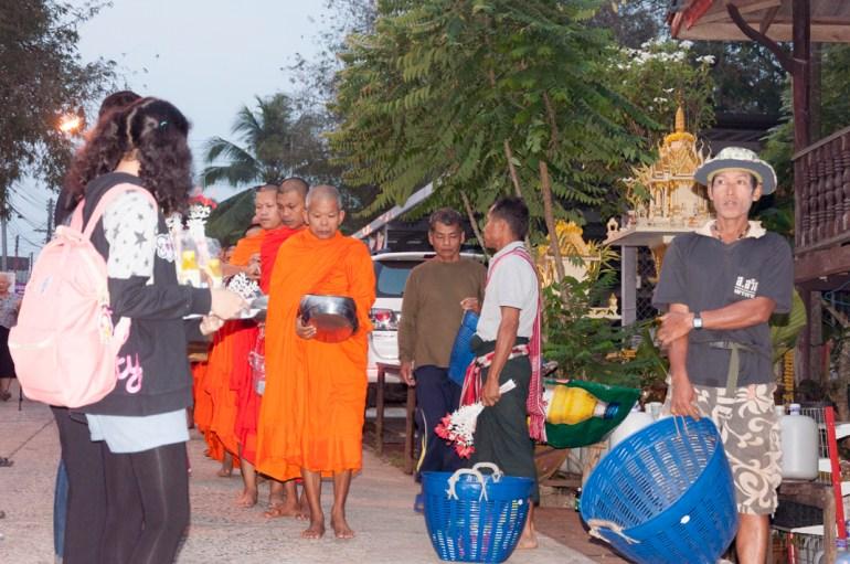 La procession des moines