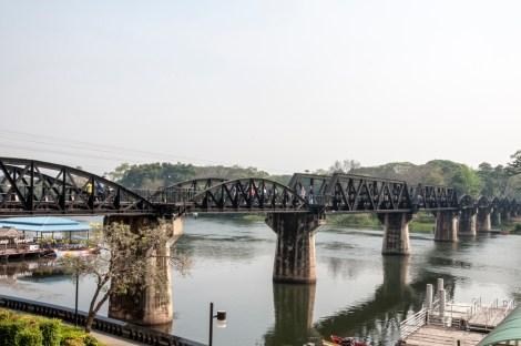 Le fameux pont, Kanchanaburi