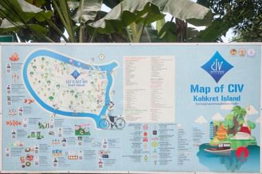 L'arrivée à Koh Kret