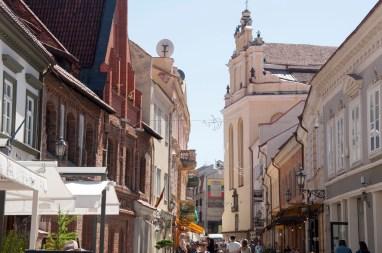 Rue dans la vieille ville