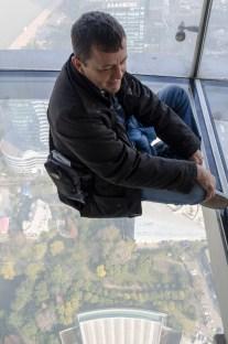 En haut de la Tour Perle d'Orient