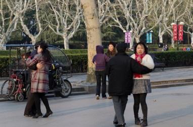 danseurs de tango, parc Fuxing