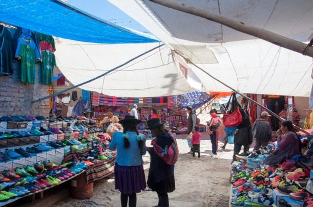 Bol 2900 marché de Tarabuco