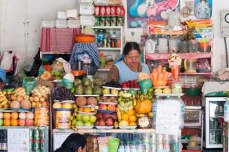 Le marché central de Sucre