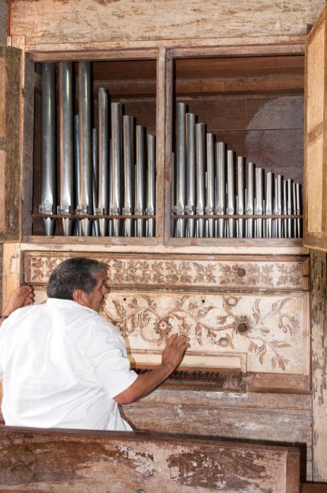 L'orgue de Santa Ana