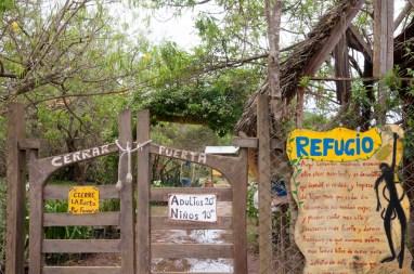 Samaipata refuge d'animaux sauvages