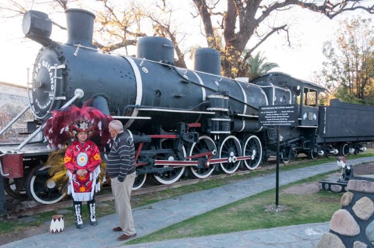 ancien tren a las nubes
