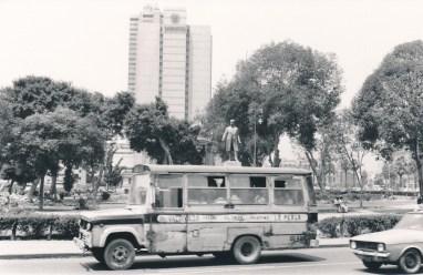 Bus, Lima (mon quotidien!)