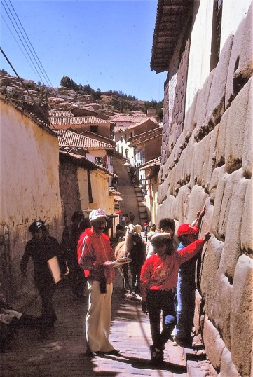 Murs Incas, Cuzco