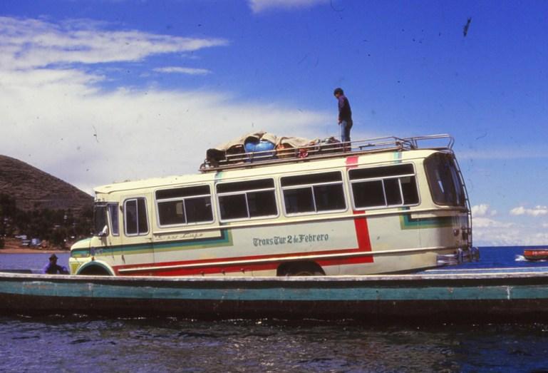 détroit de tiquina, lac Titicaca
