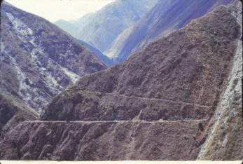 Col El Ticlio, sur la route Lima La Oroya