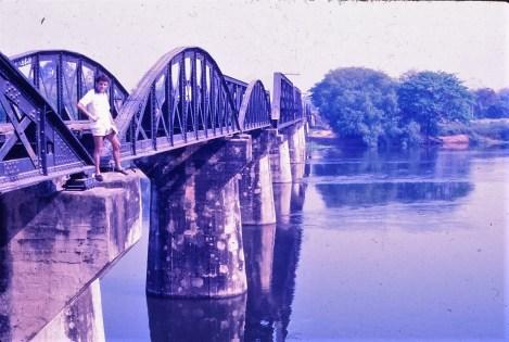 le pont de la Rivière Kwai, Kanchanaburi