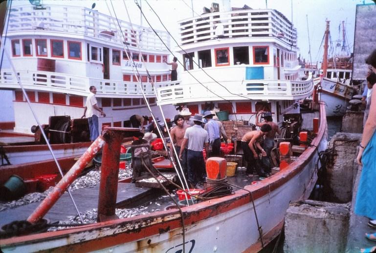 Hua Hin : le retour des pêcheurs