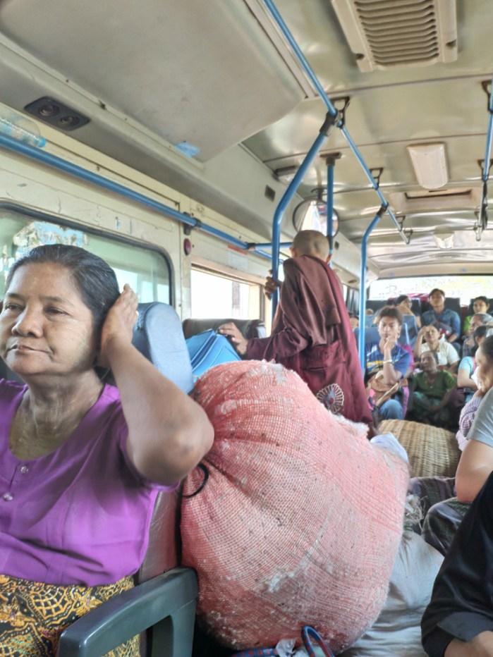 Bus vers Mawlamyaïne