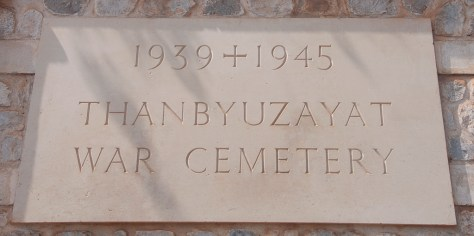 Cimetière de Thanbyuzayat