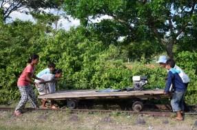 Battabang, bamboo train