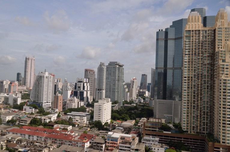 Bankok, vue depuis Anantara Hotel