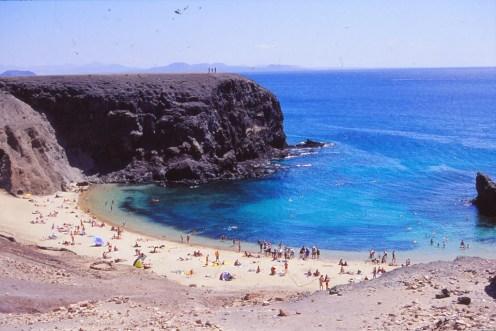 Lanzarote, crique de Playa
