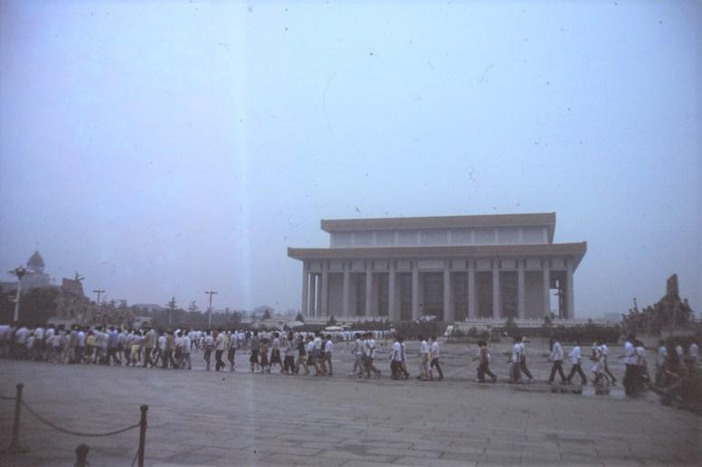 Pékin Le mausolée de MAO