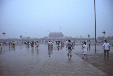 Pékin : la place Tian Anmen