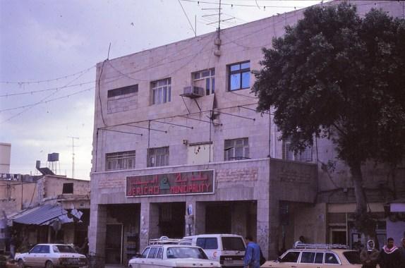 La mairie de Jéricho, (territoires palestiniens)