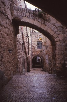 via dolorosa Jérusalem