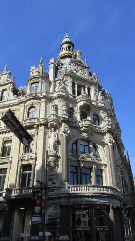 Anvers, quartier art nouveau