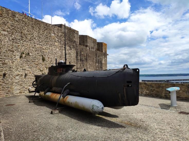 Brest, le chateau