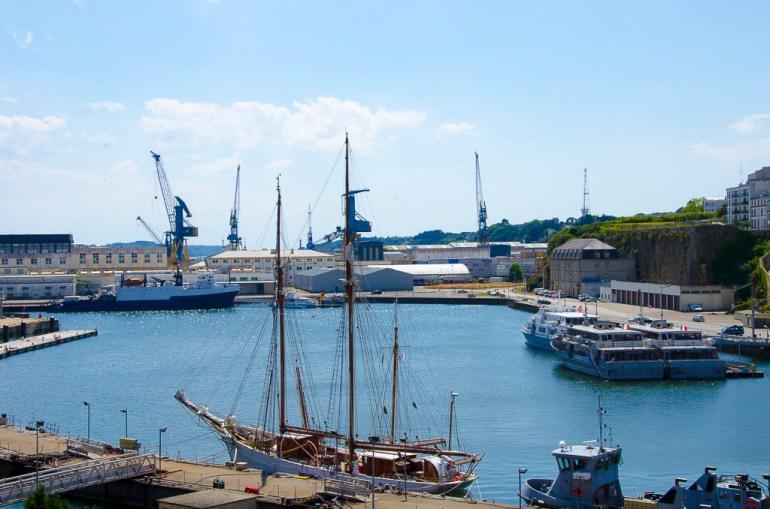 Brest le port militaire
