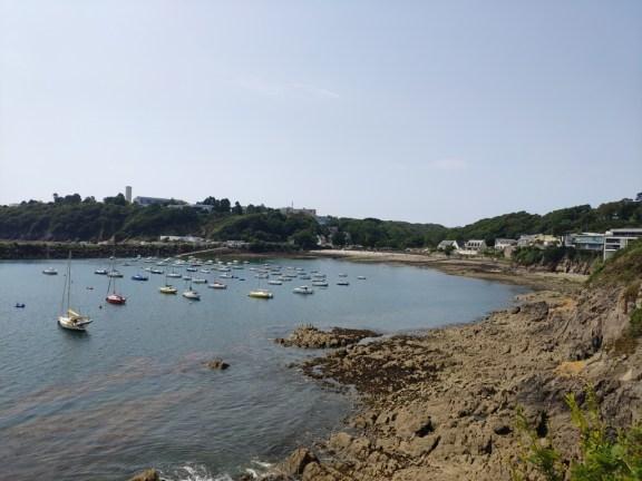 """""""plage"""" Sainte Anne, à la sortie de Brest"""